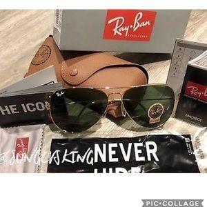 Ray-Ban Aviator Rb3025 L0205 RB3026 New Sunglasses